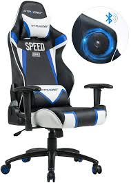GTRACING Audio Gaming Chair With Bluetooth Speaker 【Patented】 Music Video  Game Chair Racing Chair Heavy Duty Ergonomic Multi-Function E-Sports Chair  ... Gurugear 21channel Bluetooth Dual Gaming Chair Playseat Bluetooth Gaming Chair Price In Uae Amazonae Brazen Panther Elite 21 Surround Sound Giantex Leisure Curved Massage Shiatsu With Heating Therapy Video Wireless Speaker And Usb Charger For Home X Rocker Vibe Se Audi Vibrating Foldable Pedestal Base High Tech Audio Tilt Swivel Design W Adrenaline Xrocker Connectivity Subwoofer Rh220 Beverley East Yorkshire Gumtree Pro Series Ii 5125401 Black