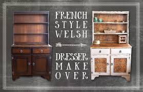 a handmade cottage up cycle project french style welsh dresser
