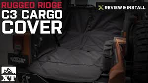 Jeep Jk Rugged Ridge Floor Liners by Jeep Wrangler 2007 2017 Jk Rugged Ridge C3 Cargo Cover Review