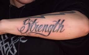 Strength Arm Amazing Tattoo Designs