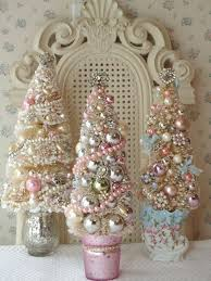 DIY First Baby Christmas Ornament Cupcake Pink I Love These Shabby Chic Trees