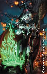 Lady Death Spellbound 11 17 Print