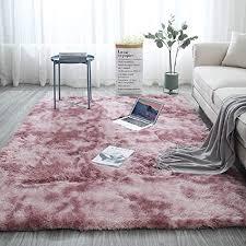 blivener plüschteppich tie dye allmählicher teppiche hochflor shaggy für wohnzimmer schlafzimmer kinderzimmer esszimmer auto bettvorleger sofa matte