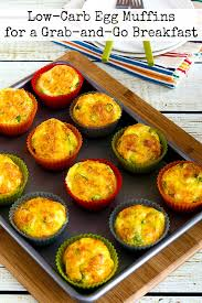 Low Carb Egg Muffins For A Grab And Go Breakfast Found On KalynsKitchen