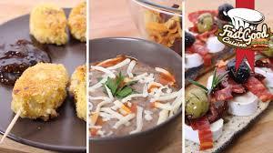 3 recettes cuisine 3 recettes idéales pour un apéritif entre amis