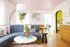 West Elm Mid Century Overarching Floor Lamp by A Living Dining Room Gets A Mid Century Makeover Front Main