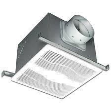 Nutone Bathroom Fan Replace Light Bulb by Nutone Invent Series 80 Cfm Ceiling Bathroom Exhaust Fan Arn80