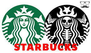 Starbucks Original Logo Upside Down Images Gallery Famous Brand Logos With Hidden Meanings That You Didn T Know Rh Steemit Com