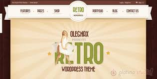 Best Collection Of Retro Vintage Style Responsive Wordpress Themes For Hipsters