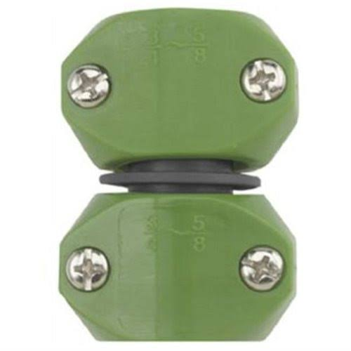 "Gilmour Thumb Poly Hose Mender - Green, 5/8""x3/4"""