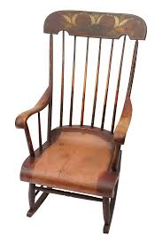 Antique Boston Rocker Nursing Chair