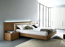 Italian Modern Bedroom Sets Modern Ebony Queen Bed Italian Modern