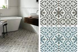 Patterned Bathroom Floor Tiles Patterned Vinyl Floor Tiles Uk