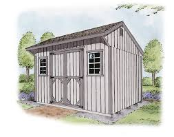 Storage Shed Plans 8x12 by Outdoor Storage Buildings The Shed Yard