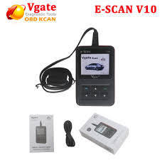 100 V10 Truck US 297 2017 New Arrival Vgate E SCAN Petrol Car And Light Scan Tool E SCAN Communicate Interface With Free Shippingin Air Bag Scan