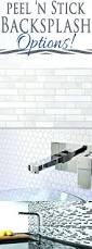 Adhesive Backsplash Tile Kit by Stick On Kitchen Backsplash Tiles Kitchen Do It Yourself Peel