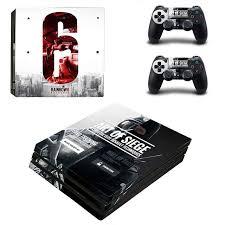siege audio console homereally ps4 pro skin rainbow six siege pvc sticker