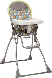 Cosco Flat Fold High Chair by Cosco Slim Fold High Chair Casey Home Design Ideas