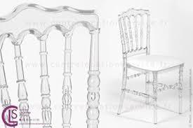 location chaise napoleon location chaise napoléon transparente pour évènements cls