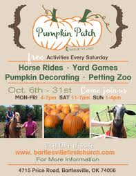 Pumpkin Patch Near Tulsa Ok by Local Church Brings Pumpkin Patch Back To Bartlesville