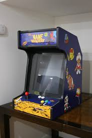 Mame Arcade Bartop Cabinet Plans by My Custom Made Bartop Arcade Machine Album On Imgur