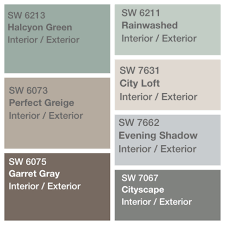Neutral Bathroom Paint Colors Sherwin Williams by Palette Decided For House Paint Sherwin Williams Perfect Greige