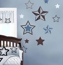 7 Stars Stencil Kit Wall Art Nursery Kids Room