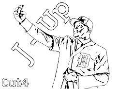 Ideas Of Detroit Tigers Coloring Pages For Cover
