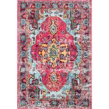 teppich loughlam in rosa
