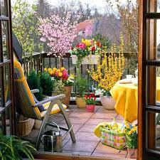 Balcony Landscape Ideas Small Garden Planting