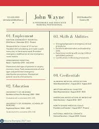 New Grad Nurse Resume Template Sample