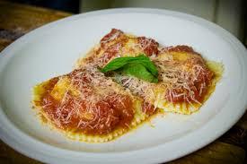 Pumpkin Ravioli Filling Ricotta by Fresh Pasta Ricotta Ravioli In A San Marzano Sauce Gianni U0027s