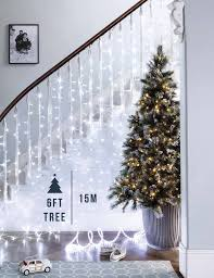 6ft Slim Christmas Tree With Lights by How Many Lights Do I Need For My Christmas Tree Buying Guides