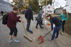 Pumpkin Festival Keene Riot by Keene State College Riot Followed By Student Cleanup The Boston
