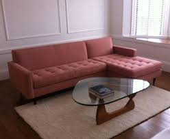 Sofa Pink by Sofa Glamorous Room And Board Reese Sofa Pink Couch Exposed