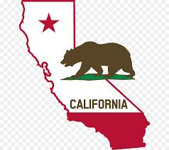 Flag Of California Grizzly Bear Clip Art