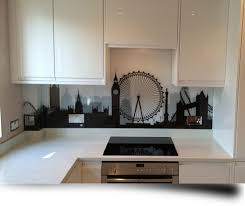 Printed Glass Kitchen Splashbacks From Of Disinction