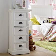 landhaus kommode schmal weiß antik halifax ca600 up möbel