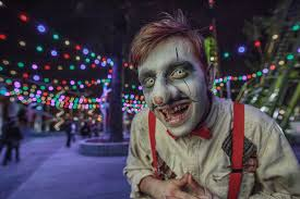 Halloween Town Characters by Halloween 2017 At Kings Dominion