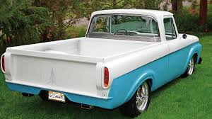 8 Facts You Didn't Know About The 61-63 Ford Unibody Trucks - Ford ... Rboy Features Episode 3 Rynobuilts 1961 Ford Unibody Pickup F100 Wrapped Around A Mercedes 300d Engine Swap Depot 63 Big Window On 2003 Marauder Chassis Truck Used Diesel Trucks For Sale Ebay 1962 F 100 Hot Rod Pickup Truck Item B5159 S Cars Web Museum 1963 Unibad Motor Trend 62 Ford Unibody Pickup Truck Slammed Moon Pie W 472 Big Block Ranchero Courier Considers Small Unibody Autoblog Project Cars Sale Pinterest And