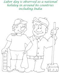 Labor Day Coloring Pages Printable Page For Picture