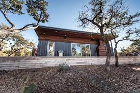 104 Shipping Container Homes In Texas This Modern Home Is Made Entirely Of S Step Side Hgtv