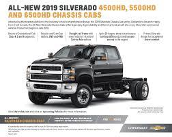 100 Longest Lasting Trucks Chevrolet Unveils The 2019 Silverado 4500HD 5500HD And 6500HD