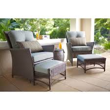 Furniture Fabulous Lowes Patio Pallet And Hampton Bay Replacement Cushions