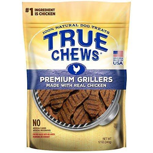 True Chews Premium Grillers Dog Treats - Chicken, 12oz