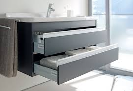 Duravit Vero Basin 600 by Duravit Ketho 550mm 2 Drawers Unit With Vero 600mm Basin Kt663601818
