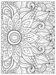 Free Online Coloring Pages For Adults Flowers 66 Pictures With