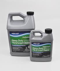 aqua mix heavy duty tile grout cleaner