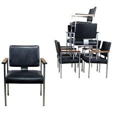 8 MCM Brushed Steel Black Vinyl Dining Conference Chairs With Walnut ... 4 X Dutch Rosewood Dingroom Chair 88667 Sjlland Table6 Chairs W Armrests Outdoor Glassfrsnduvholmen Different Types Of Small Arm Chair Home Office Ideas Set 6 Black Metal Ding Room Chairs 1980s 96891 Sublime Gold Baroque Armrest Wooden Modern Room For Waiting Rooms Office With Georgian Style Ding Room Chairs Dark Cherry Finish By Designer Danish Wikipedia Saar By Piet Boon Collection Ecc Pladelphia Freedom Classic Arms 2 Cramco Inc Shaw Espresso Harvest Chenille Upholstered