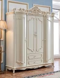 klassischer barock antik stil kleiderschrank schrank holz garderobe schlafzimmer